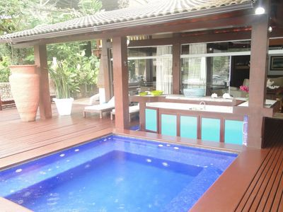 Ang024 - Beautiful house with pool in Angra dos Reis