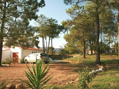 Moncarapacho villa rental - Parking by the Pines