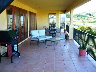 Expanisive Decks with OUTSTANDING Vineyard Views in EVERY Direction:)