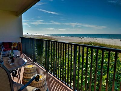 Fantastic gulf views right from your balcony