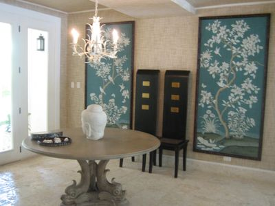 Gracious Asian influence throughout the villa