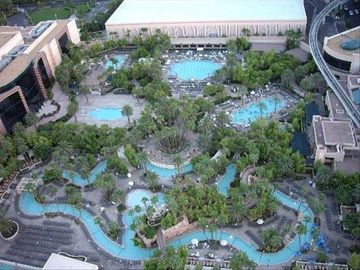 Our guests enjoy access to the MGM's main pool