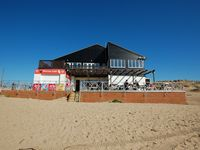 3 bedroomed apartment above a beachside café on seven miles of golden sands near Rye