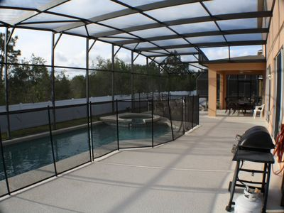 Pool Deck with BBQ Area