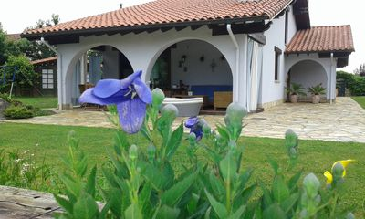 Beautiful house with garden and private pool in Cantabria