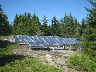 Deer Isle - Stonington lodge photo - Spruce Island is off the grid
