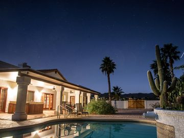 Fountain Hills house rental - Relax poolside with panoramic mountain views