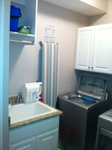 Full Laundry Room with everything you need.