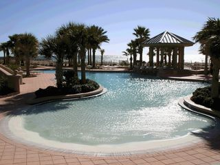 Perdido Key condo photo - Zero entry pool and Gazebo