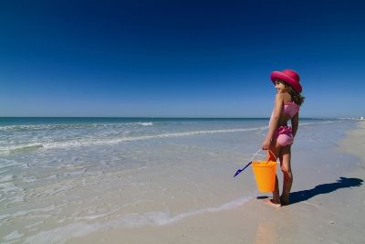 Sarasota condo rental - Play in the surf, get your toes in the sand!