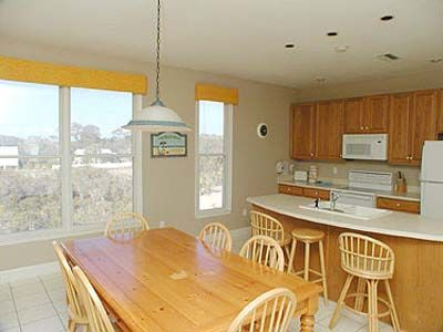 St George Island house rental - Kitchen & Dining