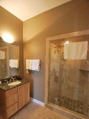 Saugatuck / Douglas house photo - Main floor bath with tile shower