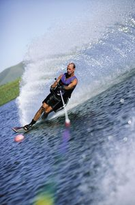 Waterski. Photo courtesy Branson Chamber of Commerce.