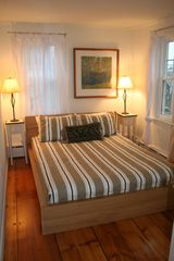 Queen Bed #1, comfortable mattress - Provincetown condo vacation rental photo