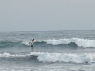 Surf your brains out at Playa Guiones