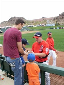 Spring training baseball games and autographs!