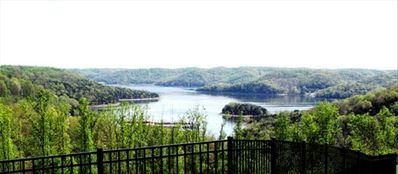 Center Hill Lake view from your private covered patio