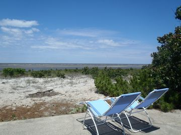 Cape May house rental - Enjoy unobstructed water views