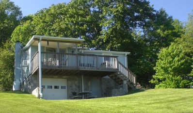 Blue Ridge Nugget sits high atop the ridge overlooking amazing vistas.