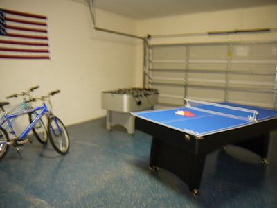 Champions Gate villa rental - Full size table tennis for your enjoyment