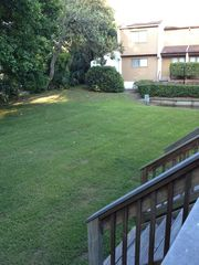 Fernandina Beach townhome photo - Our private yard