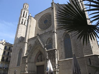 The Gothic Cathedral of Santa Maria del Mar