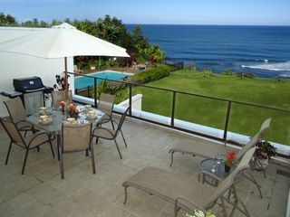 Princeville condo photo - The view from the lanai.