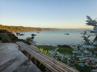 Trinidad house photo - Expansive deck with spectacular views