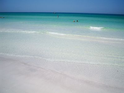 This Beautiful and Calm Gulf is Only Steps from Your Door!