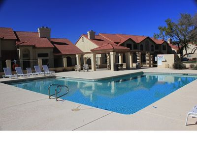 Chandler condo rental - Refreshing pool to take a dip and soak up the Arizona sun