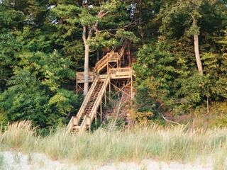 Montague cottage photo - Stairway to the beach