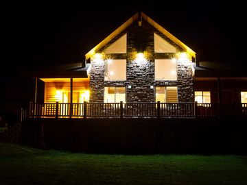 Night view of House.
