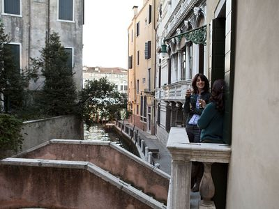 San Polo apartment rental - Apartment's terrace on the Canal
