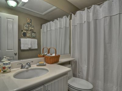 The Nicest Amenities In The 2nd Bath with Tub/Shower.