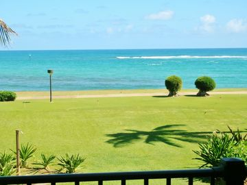 Kapaa condo rental - View from our lanai