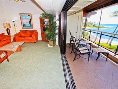 Rare indoor/outdoor living with sliding wall and covered lanai!