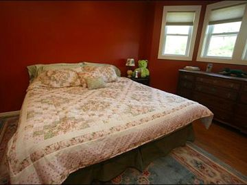 Queen Bed in the Second Bedroom