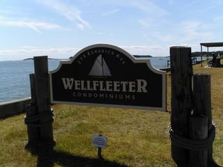 Wellfleet cottage photo - Wellfleeter sign outside cottage