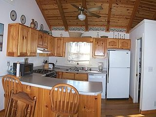 Blue Ridge cabin photo - Fully-equipped kitchen.