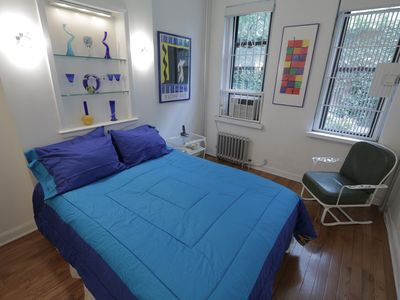 Upper East Side apartment rental - Luxurious Queen Size Bed which allows you to raise the head & feet regions.