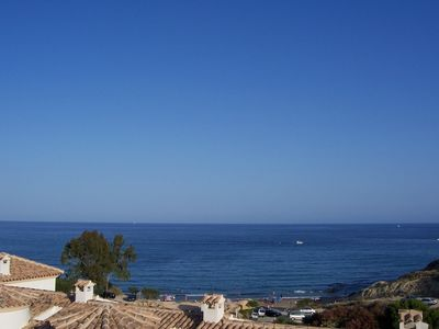 El Campello house rental - View from balcony