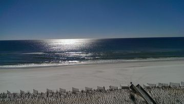 Okaloosa Island condo rental - Beautiful view from 7th floor balcony!