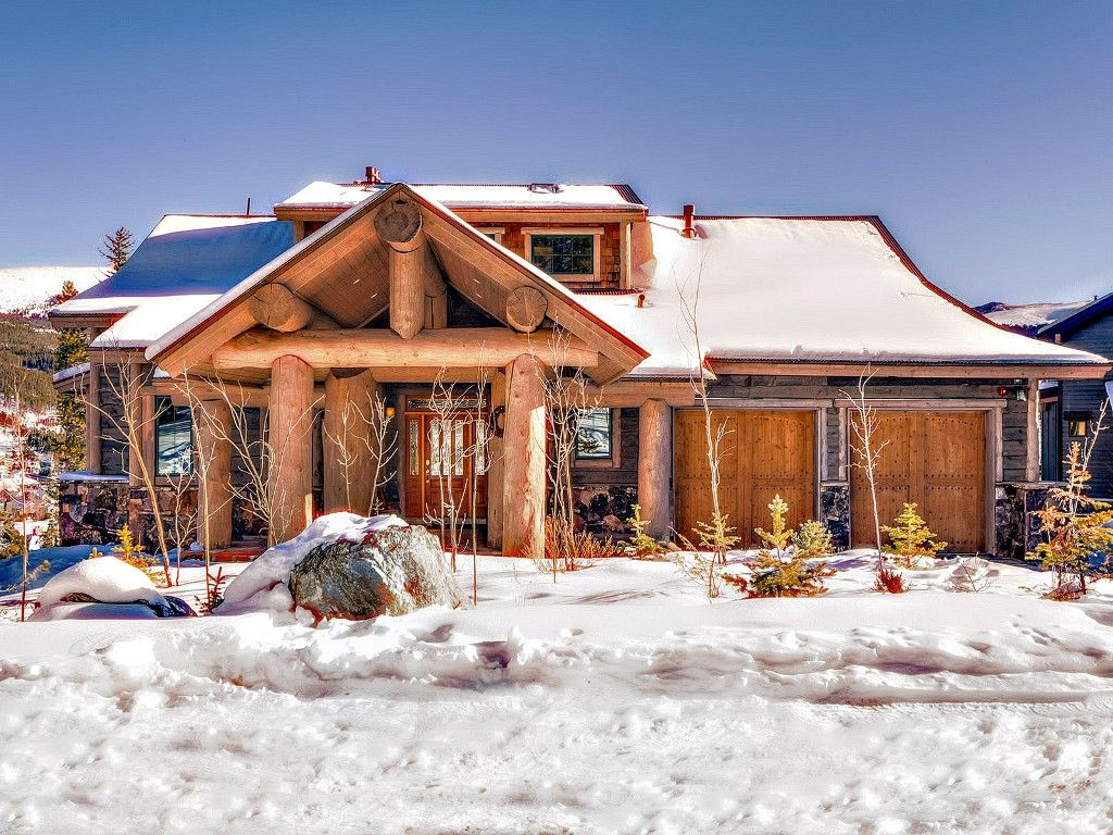 True ski in ski out family friendly colorado vrbo for Ski cottage