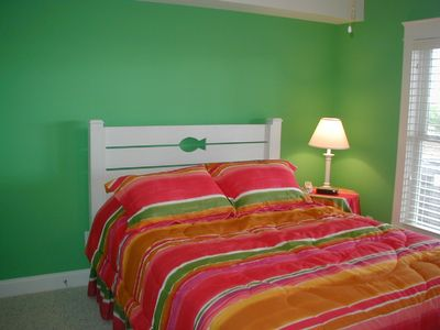 Kure Beach house rental - The green room