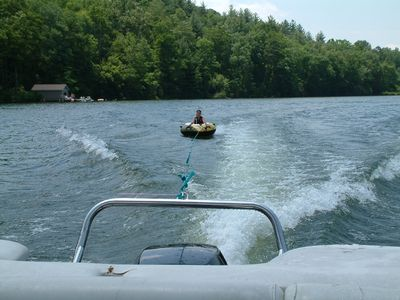 Lake Toxaway house rental - Tubing and water-skiing