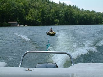 Tubing and water-skiing