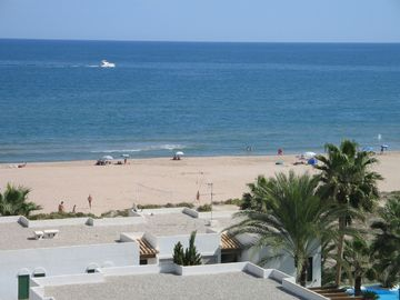 Xeraco Beach from Apartment Balcony