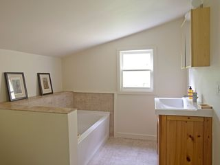 loft soaking tub + separate shower - Great Barrington property vacation rental photo