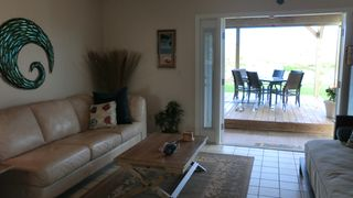 "St. Augustine Beach house photo - ""Sand"" Living Area Opens onto Dune Deck!"