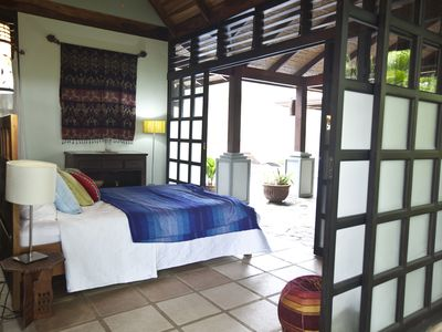 Atenas villa rental - guest bedroom